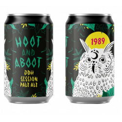 1989 BREWING HOOT AND ABOOT DDH PALE ALE BOITE 33CL NC****